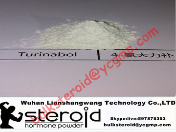চীন Oral Turinabol Steroid Powder 4-Chlorodehydromethyltestosterone for Muscle Building সরবরাহকারী